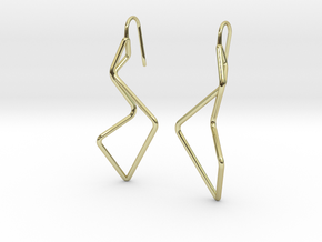 A-LINE Enmotion, Earrings in 18K Gold Plated