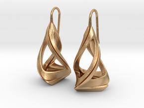 Trianon T.1, Earrings in Natural Bronze