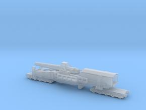 28 cm SKL / 40 (E) Railway artillery Bruno 1/200  in Smooth Fine Detail Plastic
