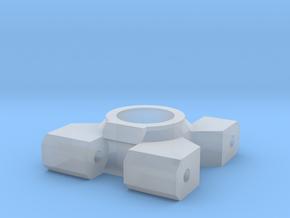 hub-monster-v4.1-L in Smooth Fine Detail Plastic