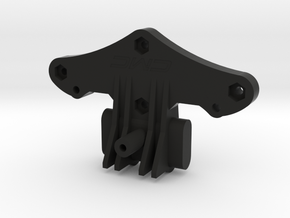 ORV Bulkhead with Ribs, Fins, and Bolt Hexs in Black Natural Versatile Plastic