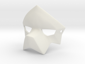 Puro's Mask  in White Natural Versatile Plastic