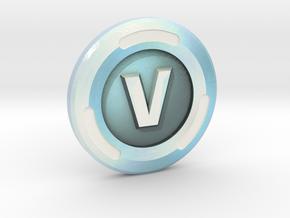 V-Buck in Glossy Full Color Sandstone