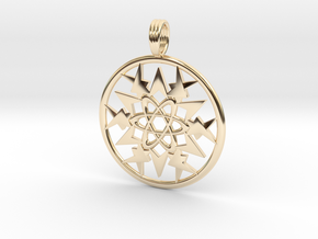 STARIUM MAPIOS in 14k Gold Plated Brass