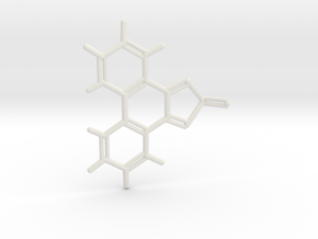 #4 Cs phenanthro-thiadiazole-oxide in White Natural Versatile Plastic