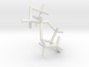 #12 D4tetrathiacyclododecane in White Natural Versatile Plastic