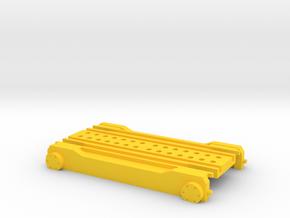 """Loco Buggy V 2.2"" H0 (1:87) für H0, H0m, H0e in Yellow Processed Versatile Plastic"