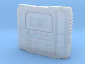 Time Shield (5mm Peg) in Smooth Fine Detail Plastic