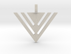 Abstract Arrow in Natural Sandstone