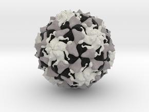 Polio Virus in Full Color Sandstone
