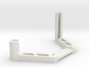 DJI OcuSync Pagoda + Cylindrical antenna mount in White Natural Versatile Plastic