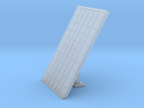 HO Scale Solar Panel w_support in Smooth Fine Detail Plastic