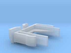 Verticals Valance Clips 007 in Smooth Fine Detail Plastic