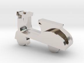 Miniature Scooter in Platinum