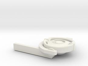 1/16 DKM UBoot VIICCompass in White Natural Versatile Plastic