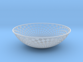 Bowl 1409B in Smooth Fine Detail Plastic