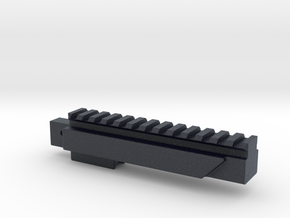 LCT SR-3M Bottom Rail in Black Professional Plastic