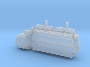 N EMD 567 in Smooth Fine Detail Plastic