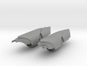 1/3rd scale Yangs Gauntlets in Gray PA12