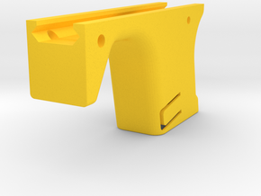 G-Series Magazine Forward Grip with Handstop in Yellow Processed Versatile Plastic