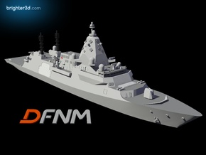 Hunter Class Frigate in White Natural Versatile Plastic: 1:700