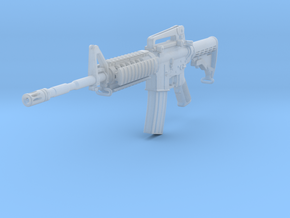 1/12th 4A1 stock retracted in Smooth Fine Detail Plastic