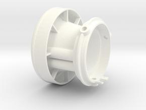 CRF150R velocity stack Mk 2.2 in White Processed Versatile Plastic