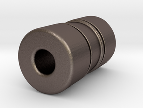 N-std040X in Polished Bronzed-Silver Steel