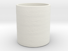 Shark in the Cup Penstand (Read Description)  in White Natural Versatile Plastic