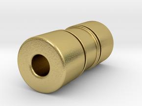 TTstd080X in Natural Brass