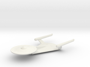 Enterprise Study Model in White Natural Versatile Plastic