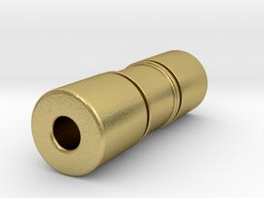 HOstd080X in Natural Brass