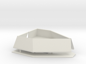 1/96 Bridge Wings for Independence Class LCS 2 in White Natural Versatile Plastic