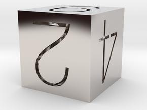 Affordable Platinum d6! in Platinum