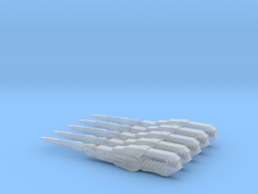 Ranger Stick (5 swords) in Smooth Fine Detail Plastic