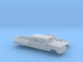 1/160 1991-93 Dodge Ram CrewExtCab Dually Kit in Smooth Fine Detail Plastic