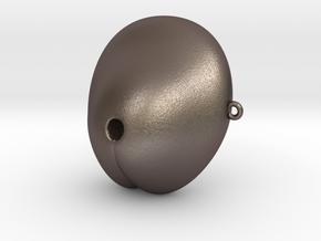 Electrosex Penis tip, E-Stim V3 Large in Polished Bronzed-Silver Steel