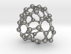 0689 Fullerene c44-61 c1 in Natural Silver