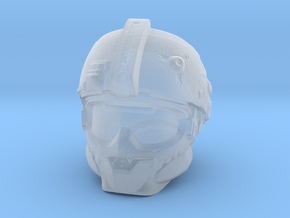 Expanse Mars Marine Helmet 28mm scale in Smoothest Fine Detail Plastic