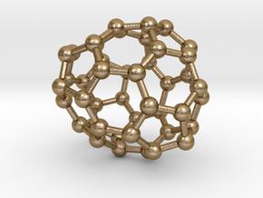 0693 Fullerene c44-65 c1 in Polished Gold Steel
