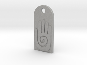 Tag Native American Hand size normal in Aluminum