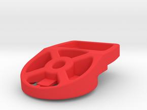 Fizik ICS Garmin Track Mount in Red Processed Versatile Plastic