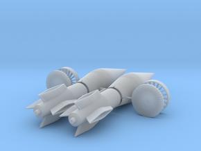 SR-71 Blackbird Engine Spike, 1/72 in Smooth Fine Detail Plastic