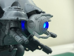 Wheatley Personality Core - Head in Smooth Fine Detail Plastic