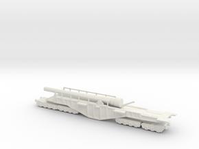 BL 14-inch Railway Gun 160 Boche Buster in White Natural Versatile Plastic