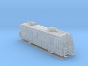 Battle Bus in Smooth Fine Detail Plastic