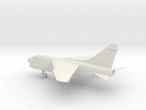 Vought LTV A-7E Corsair II in White Natural Versatile Plastic: 1:100