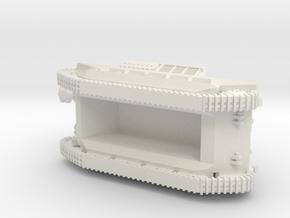 10,5cm le.F.H. auf Geschützwagen FCM(f) 1/144 in White Natural Versatile Plastic