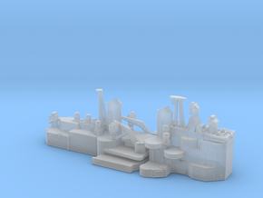 1/700 HMS Vanguard superstructure in Smooth Fine Detail Plastic