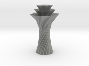Vase 1236 in Gray Professional Plastic